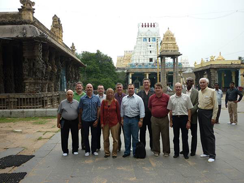 VIT Vellore ABET team at Kailasanthar Temple