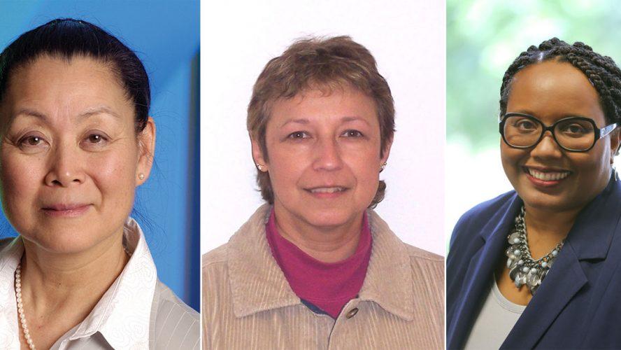 Chong, Cossette, Pearson Headshots